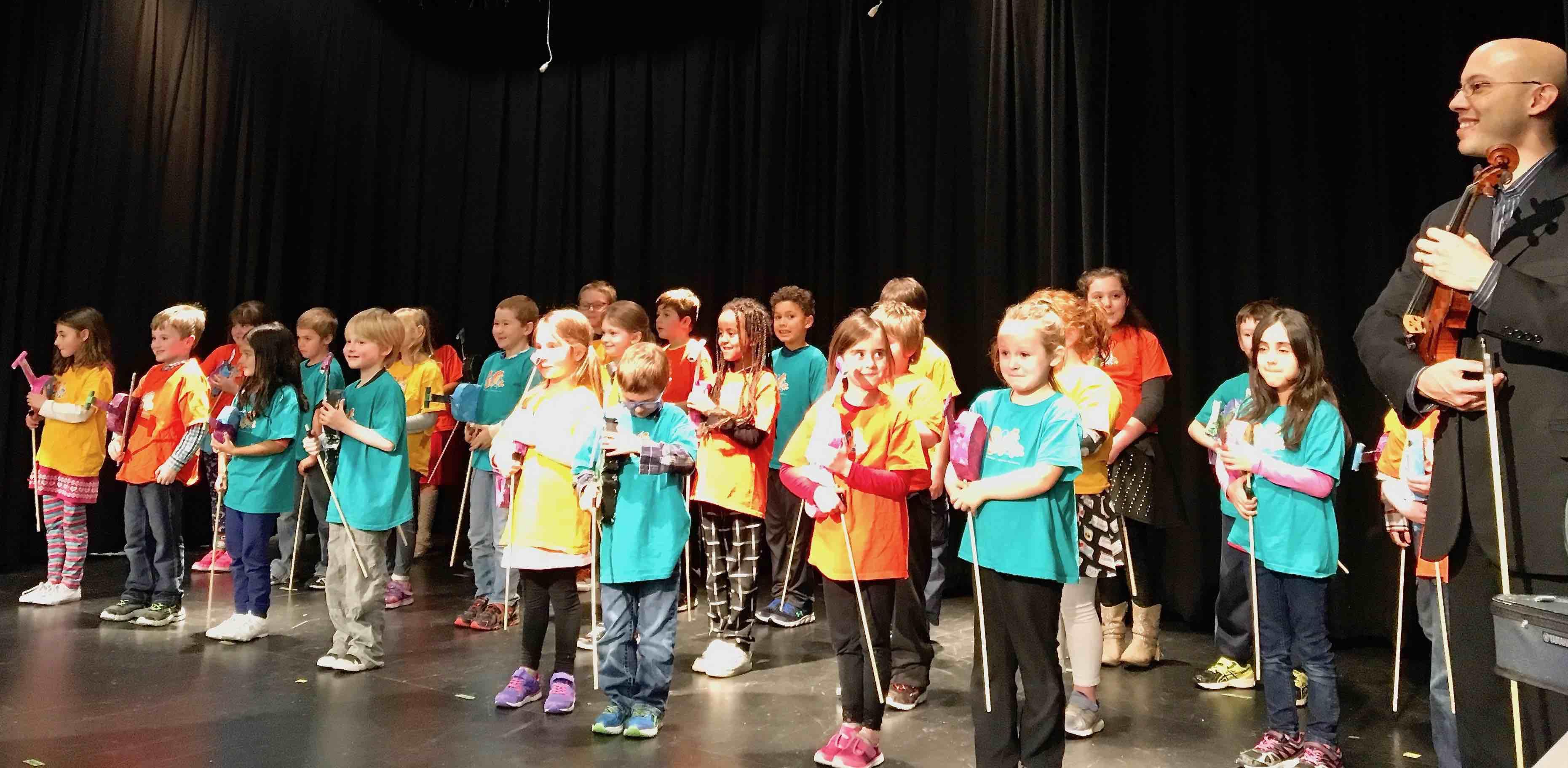 February 20, 2018 Sistema NB Fredericton Instrument Presentation Ceremony at Gibson-Neill Memorial School